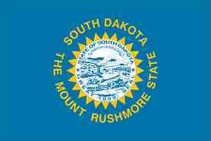 Flag of South Dakota